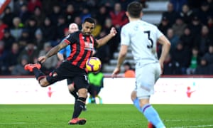 Callum Wilson fires home from outside the box to break the deadlock.