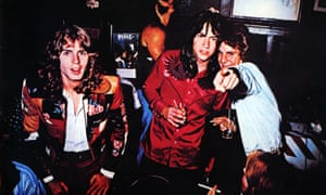 Big Star in the 70s: (l-r) Jody Stephens, Andy Hummel and Alex Chilton