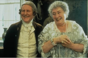 Hardy with Elizabeth Spriggs in Ang Lee's 1995 film version of Sense and Sensibility