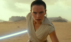 Daisy Ridley in Star Wars: The Rise of Skywalker.