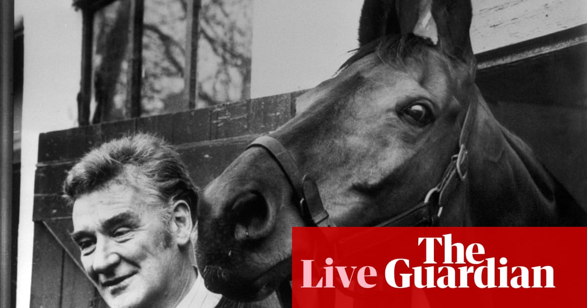 Grand National 1977: Red Rum goes for historic treble – live!