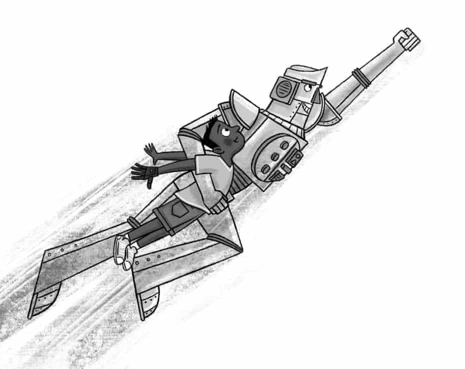 'Madcap escapade': Frank Cottrell-Boyce's Runaway Robot