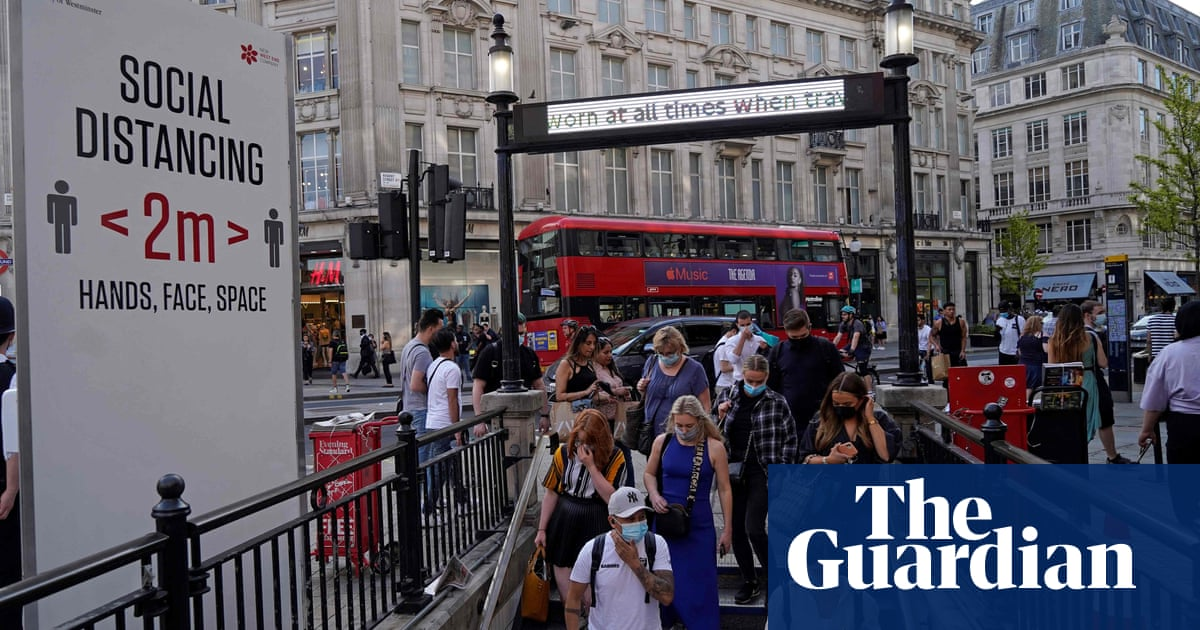 UK's economic recovery from Covid stalled in June amid 'pingdemic'