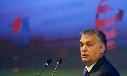 Hungarian Prime Minister Viktor Orban.