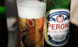 Peroni Italian lager