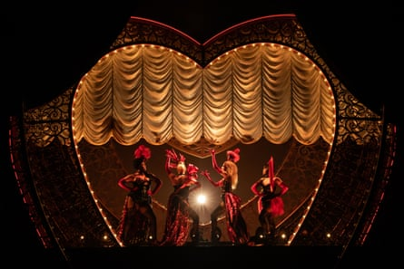 A production shot from Moulin Rouge! the Musical