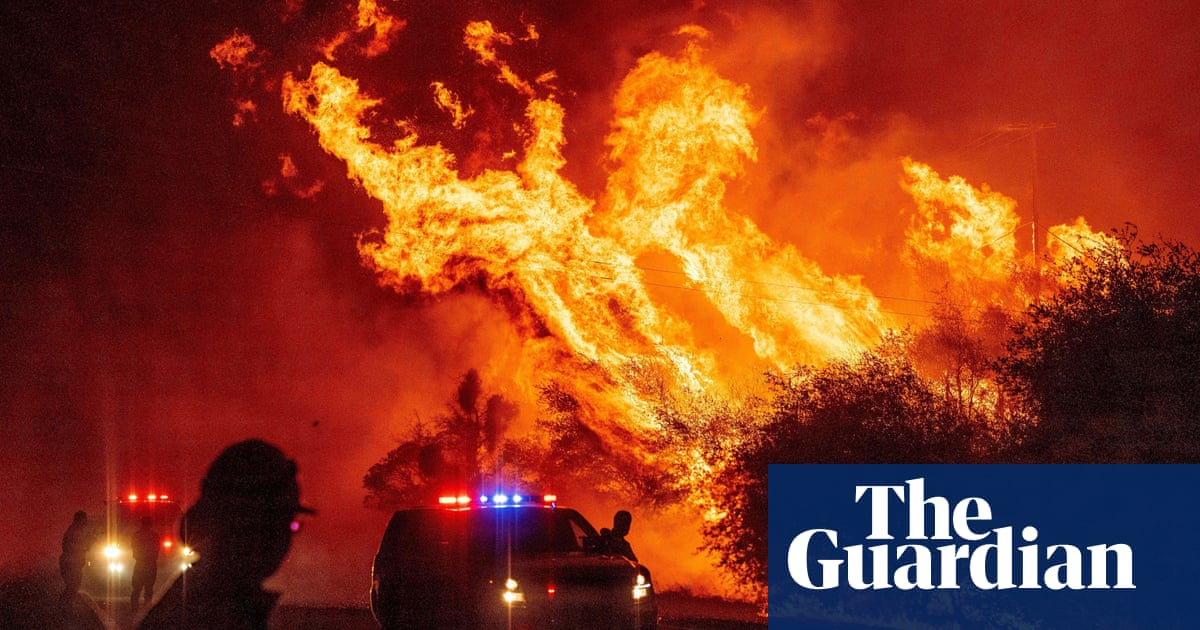 California governor on wildfires: 'No patience for climate change deniers' – video
