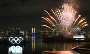 A ceremony to mark Tokyo's Olympic year was held in the city in January.