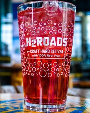 H2Roads Craft Hard Seltzer