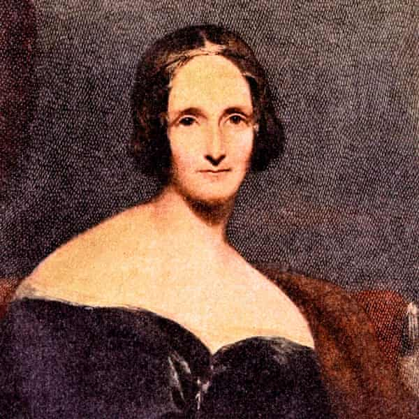 A portrait of Mary Wollstonecraft Shelley