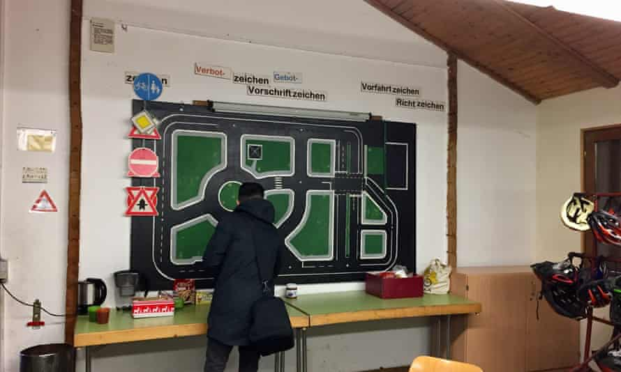 The classes also teach German traffic rules as well as how to carry out repairs