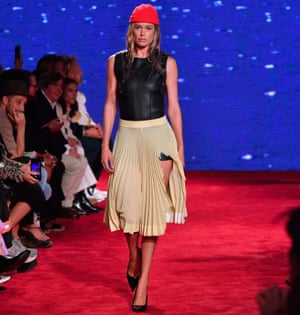 120b9210711 Calvin Klein is all bite in New York with Jaws homage | Fashion ...