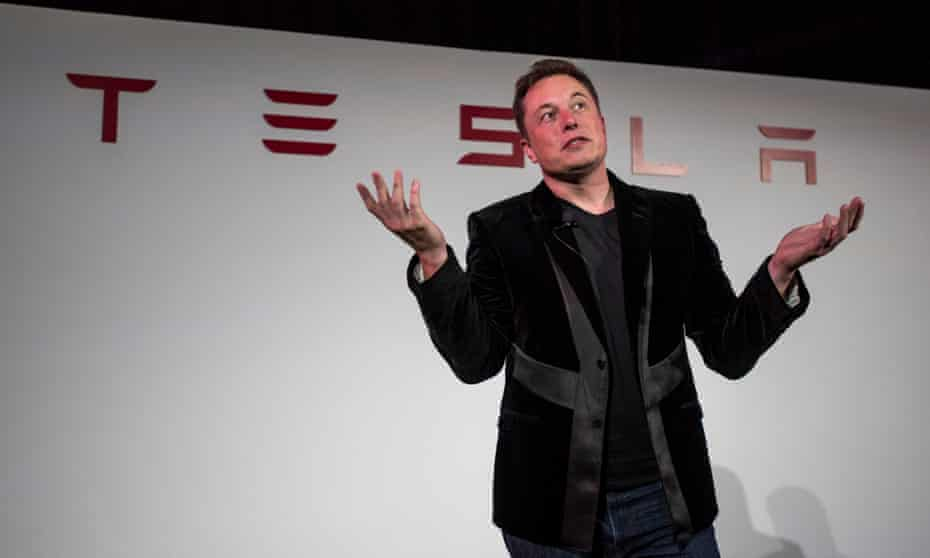 Tesla founder and 'individualised transport' supporter Elon Musk.
