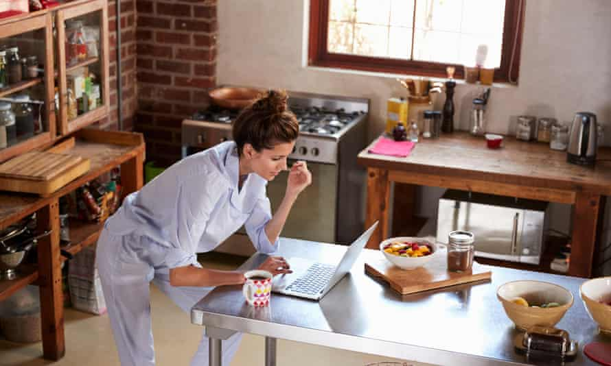 """For many, working from home has meant 'dumping """"real"""" clothes' for the comfort of pyjamas."""
