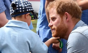 Luke Vincent gets to grips with Prince Harry.