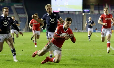 Scotland 24-25 Wales: Rees-Zammit try clinches Wales win – as it happened