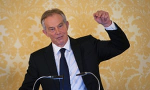 Tony Blair responds to criticisms in the Chilcot inquiry report at a press conference.