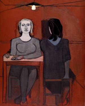 The Conversation (1937) by Dora Maar.