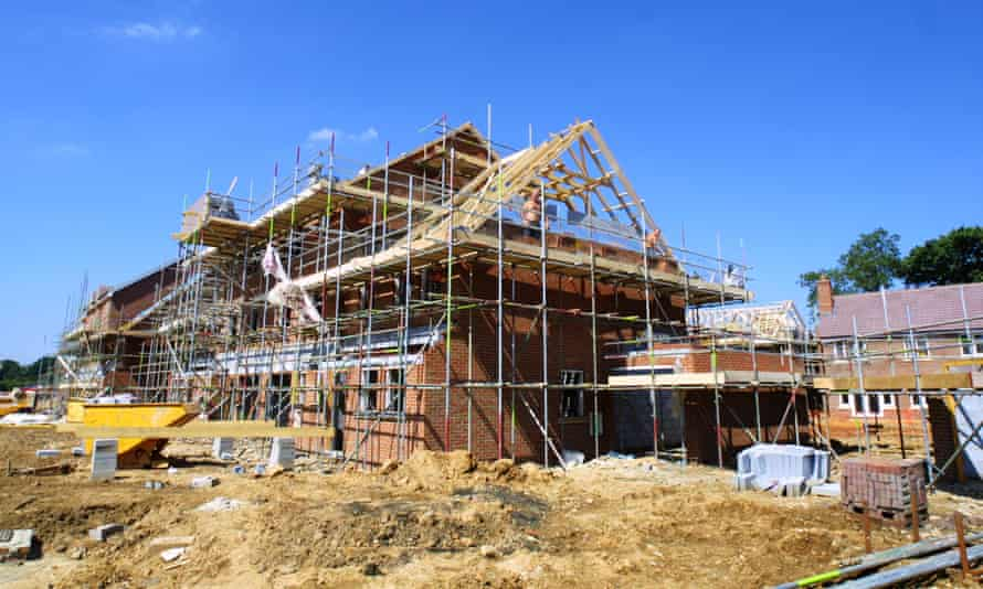 A new home under construction in Hatfield