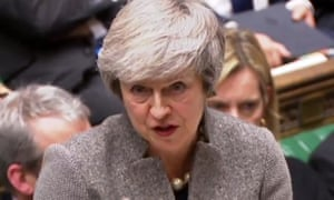 Theresa May in the House of Commons on Monday: 'I know many members of this house are concerned that we need to take a decision soon.'