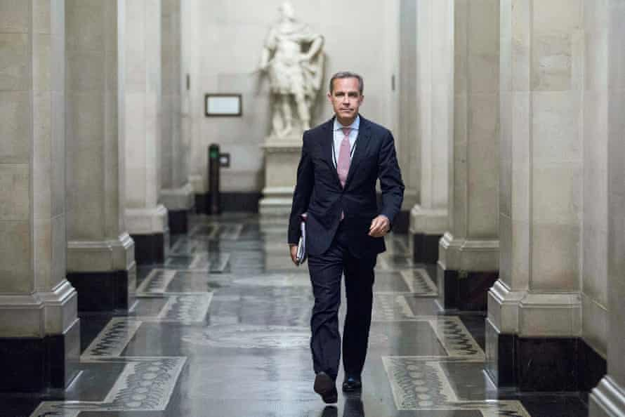 Mark Carney at the Bank of England