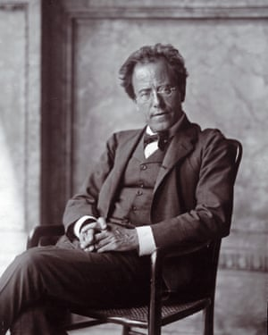 Gustav Mahler … pictured in 1907.