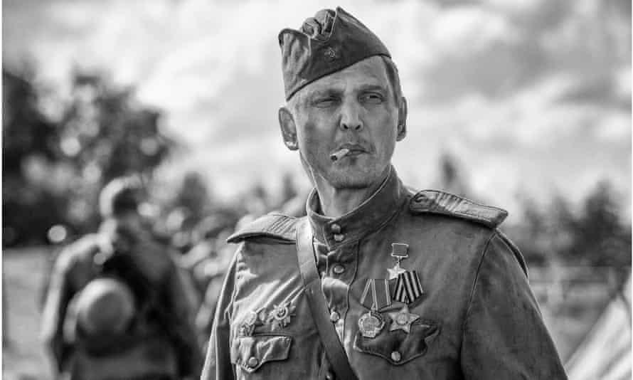 Barry Pepper in The Painted Bird.