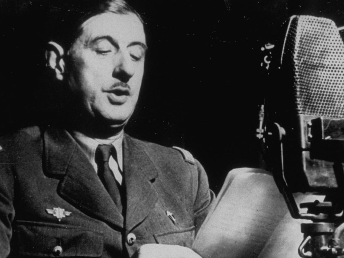 A Certain Idea Of France By Julian Jackson The Life Of Charles De Gaulle History Books The Guardian De Gaulle