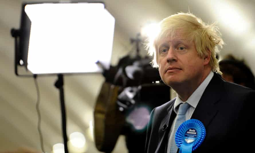 Boris Johnson wins the seat in 2015