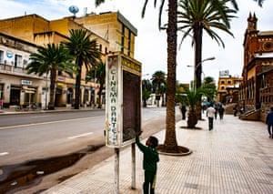 Asmara city centre