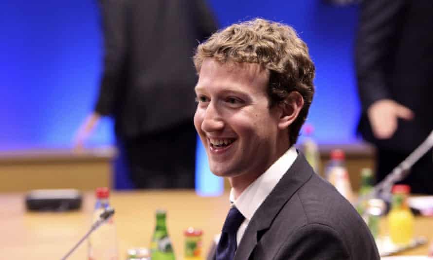 Facebook's chief executive, Mark Zuckerberg.