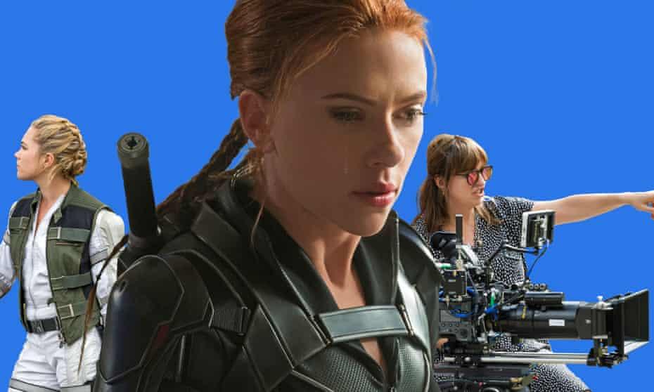 Scarlett Johansson, Florence Pugh and Cate Shortland