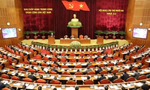 The Communist party of Vietnam Central Committee  meets
