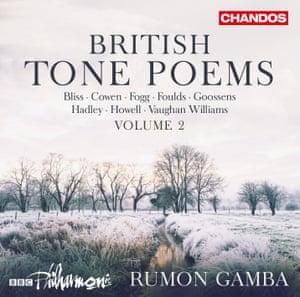 British Tone Poems Volume 2 album art work