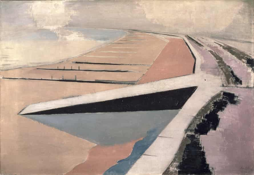 The Shore, 1923 (oil on canvas) by Nash, Paul (1889-1946)