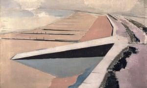 The Shore by John Nash (1923)