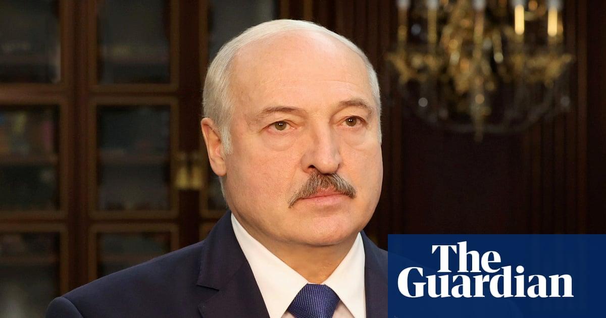UK imposes sanctions on Belarus president Alexander Lukashenko - the guardian