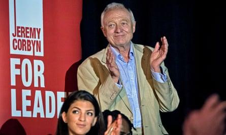 Ken Livingstone at Jeremy Corbyn  rally 2015