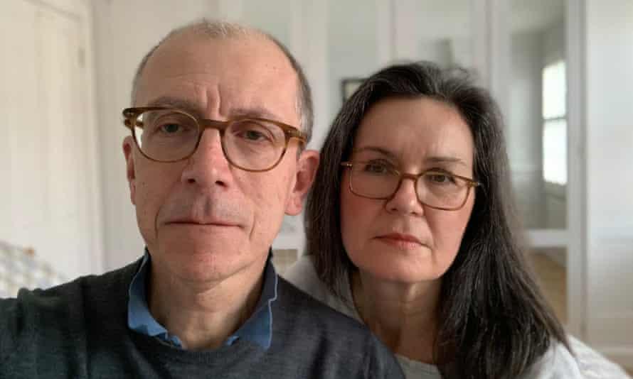 Richard Szwagrzak and Tracey Logan