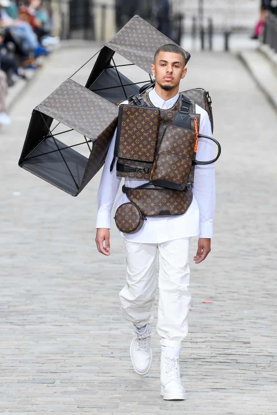 Louis Vuitton runway Paris Fashion Week - Menswear Spring/Summer 2020