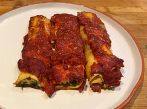 Felicity Cloake's Perfect spinach ricotta cannelloni Felicity Cloake pics Christopher Boswell
