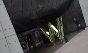 The W London hotel in Leicester Square.