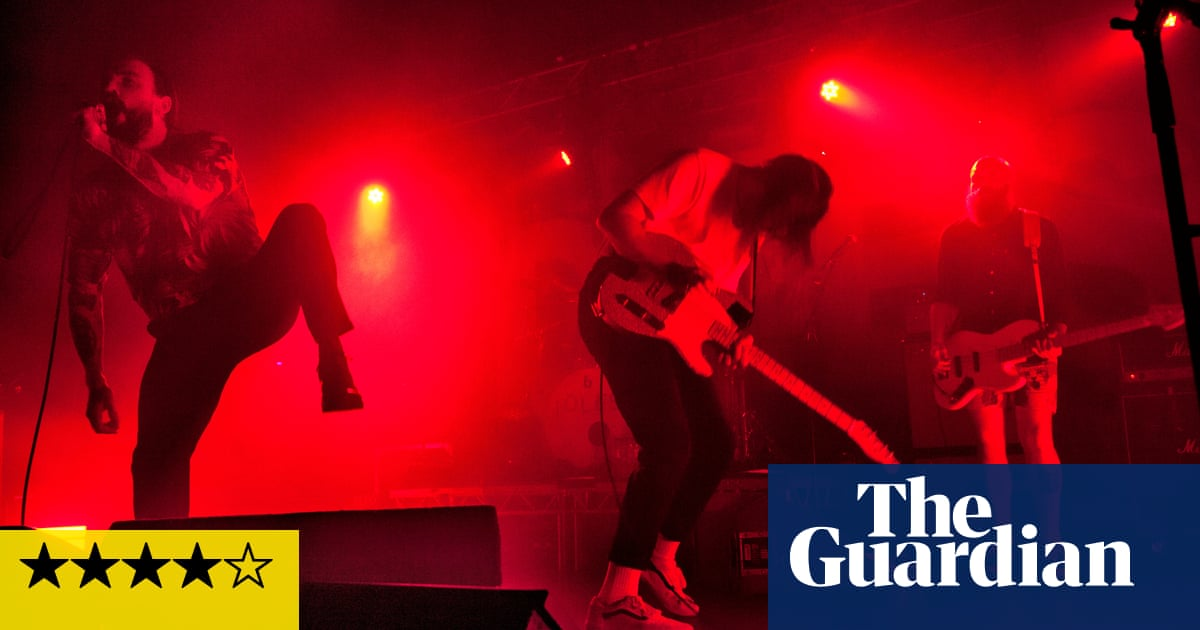 Idles review – shout their name from the rooftops   Music