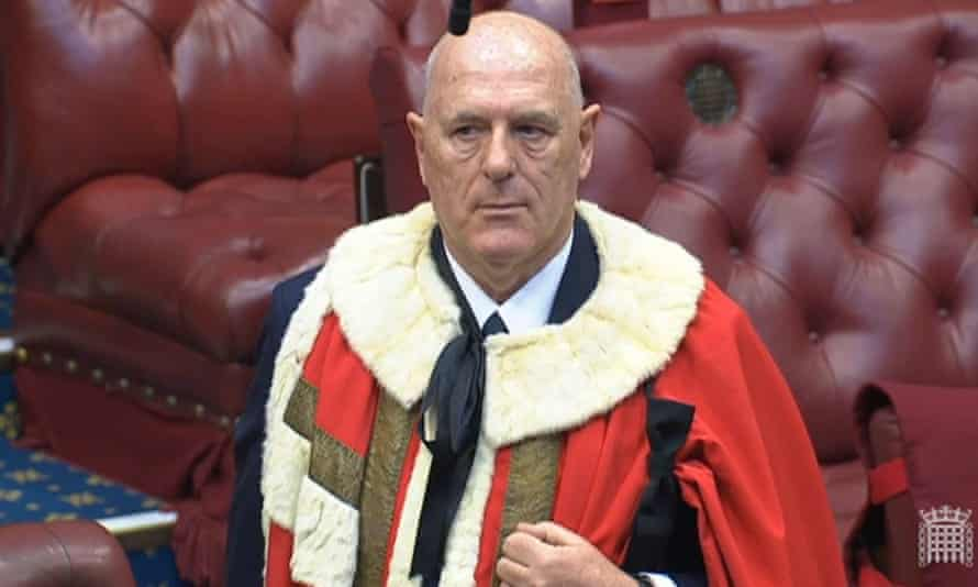 Peter Cruddas in the Lords.
