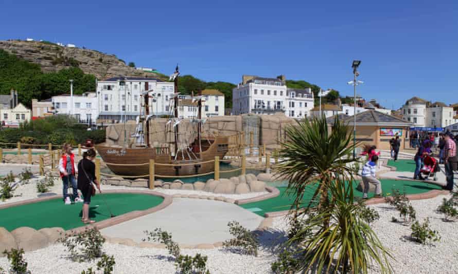 Hastings Adventure Golf.