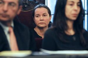 Montserrat González in court in January 2016.