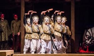 Turandot at the Royal Opera House.