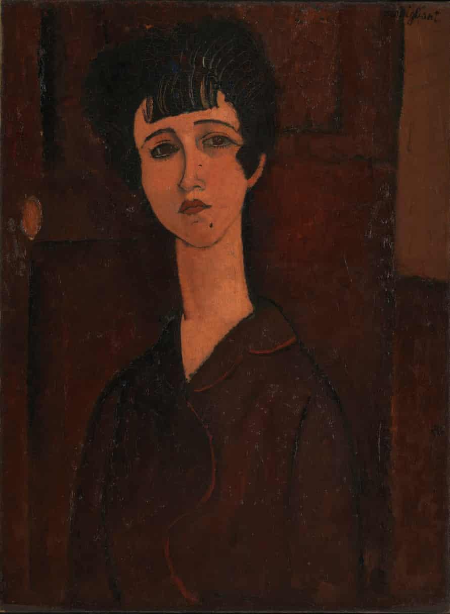 Modigliani's Portrait of a Girl