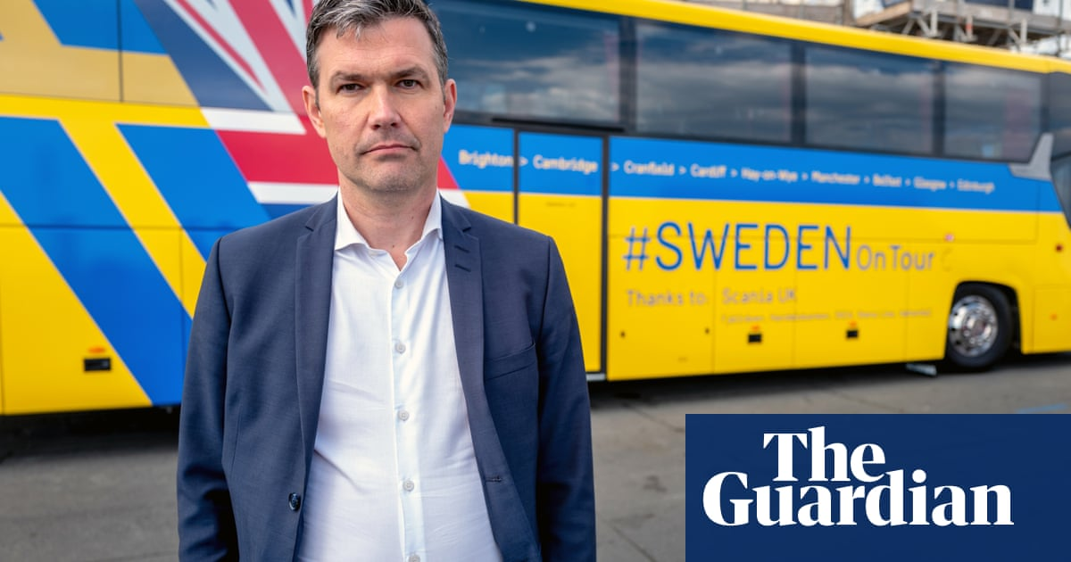 Swedish embassy tours UK by bus to give reassurance over Brexit