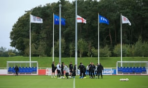 The FA's national football centre at St George's Park is being mentioned as a possible base for teams and even for playing matches.